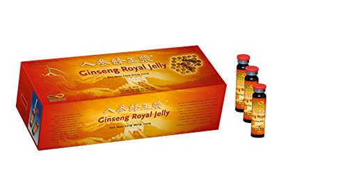 Ginseng Royal Jelly - 6 Jahre alter Rot-Ginseng !!! - 30 x 10 ml Trinkampullen - Kur, Große Packung -