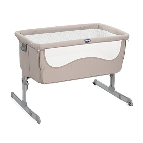 Chicco 07079339220000 next2me culla, 0m+, marrone