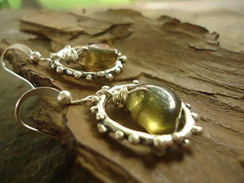 ♥ natural stones in the ring ♥ orecchini con pietre
