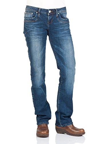 LTB Damen Jeans Valentine Kaley Low Rise Straight 50201-50645, Größe:W29 L30, Farbe:Valentine Kaley (50201-50645) (Pant Denim Rise Low)