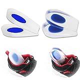 HLYOON H11 Tallone Tazze in silicone medicale e cuscinetti in gel di poliuretano protettivi per tallone