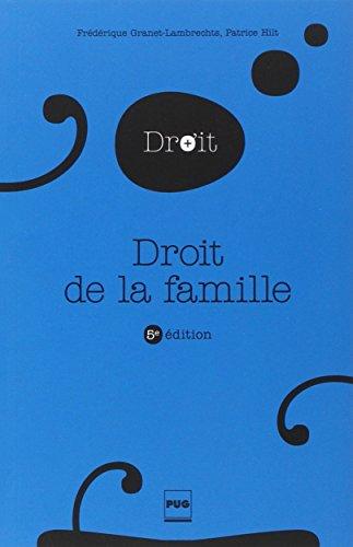 Droit de la famille par Frédérique Granet-Lambrechts, Patrice Hilt