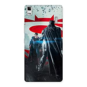 Stylish Day Vs Knight Front Multicolor Back Case Cover for Lenovo K3 Note