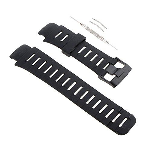 Homyl 1 Stück Armband Uhrenarmbänder Edelstahl-Schnalle + 2 Stück Federleiste für Unisex Uhren