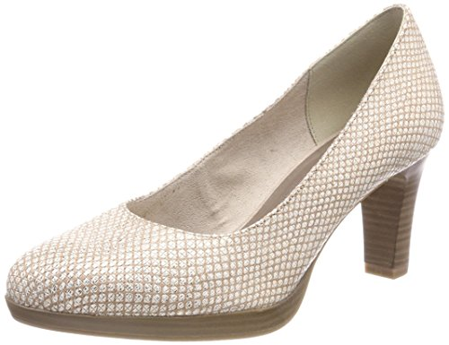 Tamaris Damen 22410 Pumps, Beige (Shell STR.), 38 EU