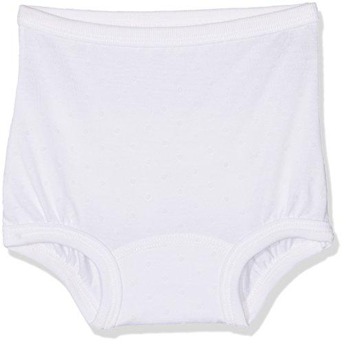 Petit Bateau Baumwoll-höschen (Petit Bateau Baby-Mädchen Höschen Culotte 23174, Weiß (Ecume 01), 92 (24m/86cm))