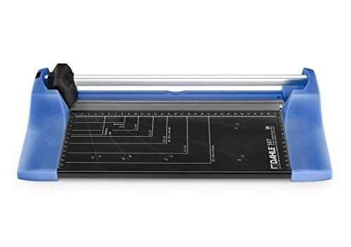 Dahle 00507-14382 Roll- und Schnitt-Schneidemaschine Easy Blau