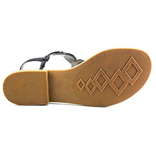 Branco Preto Sandale Metálico Leder Montanha Brilho n7Pxqa6p4