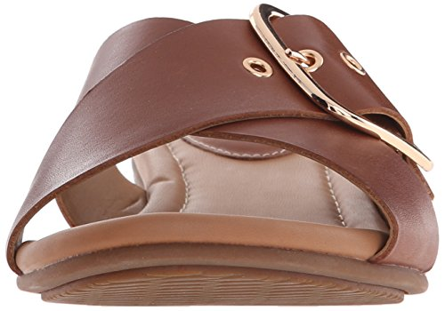 Clarks Viveca Gwen Kleid Sandale Nutmeg Leather