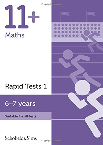 11+ Maths Rapid Tests Book 1: Year 2, Ages 6-7