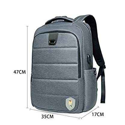 41X%2BmAAXo1L. SS416  - Maod - Mochila para portátil de Gran Capacidad, Resistente al Agua, Elegante, para portátil de 15,6 Pulgadas, con Puerto de Carga USB