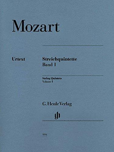 Quintettes a Cordes V.1 --- Materiel par Mozart Wa
