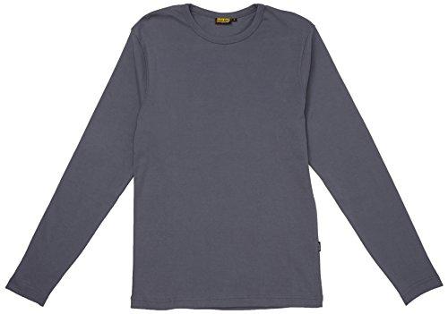 Ärmel Nackenband (Blakläder 331410329400s Lange Ärmel Shirt Gr. S in grau 1)