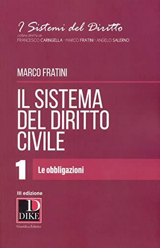 Il sistema del diritto civile: 1