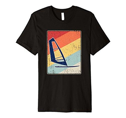Retro Windsurfen T-Shirt - Vintage Surfen Windsurfer