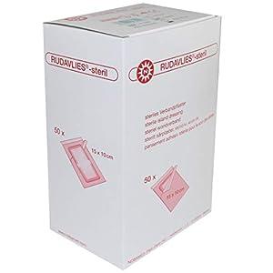 Rudavlies Steril – steriles Pflaster zur Wundversorgung 15 cm x 10 cm (50 Stück)