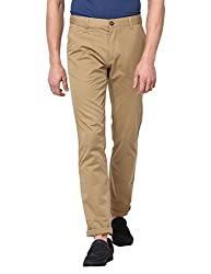 Monte Carlo Camel Solid Trouser