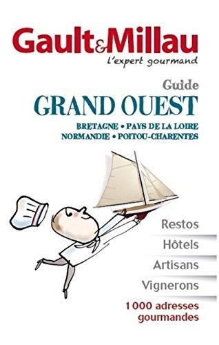 Guide Bretagne, Pays de la Loire, Normandie