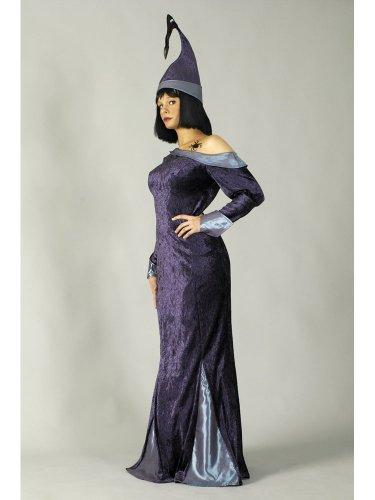 Magierin Frau Kostüm - KOSTÜM FRAU MERLIN, 36-38