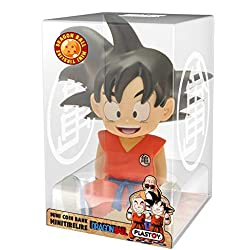 Dragonpro- Son Goku Sentado Mini Hucha 13,5 cm PVC Dragon Ball, (PLY00080062)
