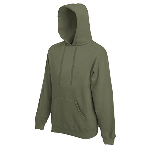Fruit of the Loom - Kapuzen-Sweatshirt 'Hooded Sweat' XXL,Classic Olive -