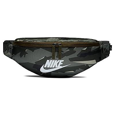 Nike 2018 Sac Banane Sport, 15 cm, Multicolore (Cargo Khaki/Negro/Blanco)