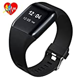 Mpow Smart Watch Cardiofrequenzimetro IP67, Braccialetto Fitness Tracker 1.0''...
