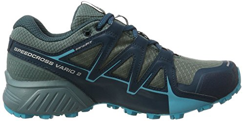 Salomon Speedcross Vario 2 GTX, Scarpe da Trail Running Donna Grigio (Artic/north Atlantic/blue Bird Artic/north Atlantic/blue Bird)