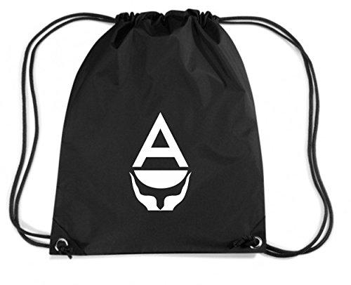 t-shirtshock-mochila-budget-gymsac-tm0157-antarctica-flag-talla-capacidad-11-litros
