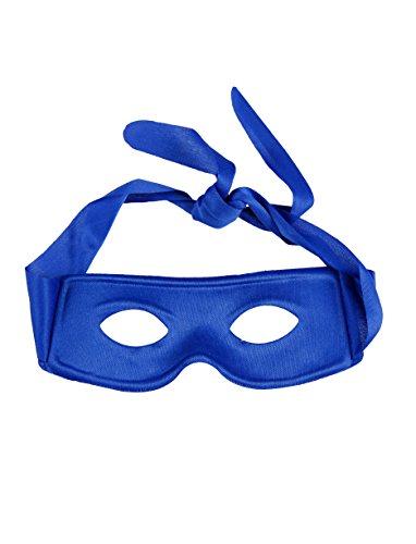 Maske zum Binden blau Keine Größe