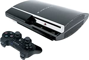 playstation 3 konsole 80 gb inkl dual shock 3 wireless. Black Bedroom Furniture Sets. Home Design Ideas