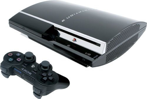 Playstation 3 - Konsole 80 GB inkl. Dual Shock 3 Wireless Controller (Ps3 Konsolen)