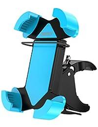 [Soporte Movil Bicicleta Universal] CHOETECH PA/PC Montaje de Goma Soporte Motomontaje en la horquilla para Smartphone, GPS y otros dispositivos Conveniente para el teléfono 4-6 pulgadas