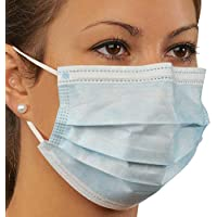 Holthaus Medical Mundschutz Nasenmaske Atemschutz Einmalmaske Einwegmaske, 3-lagig, blau, 50St preisvergleich bei billige-tabletten.eu