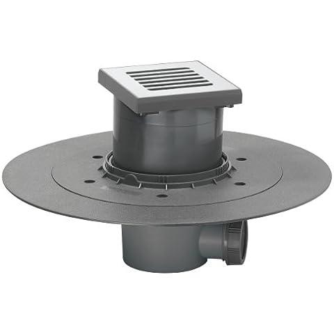 Wirquin 30718095 - Sifone per doccia a pavimento, scarico D40