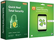 Quick Heal Total Security (2 PC, 3 Year)+Total Security for Android (1 User 1 Year)