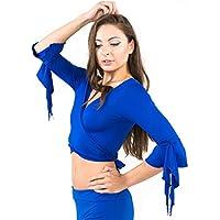 Top boléro Haut de Danse Orientale Cache Coeur en Lycra - Belly Dance Top df18244eec6