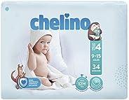 Chelino Fashion & Love - Pañales para bebés con un peso comprendido entre 9 y 15 kilos, Tal