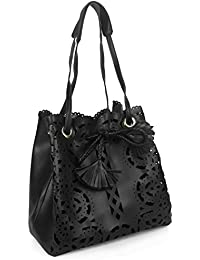 Damen Handtasche Umhängetasche Ethno Muster