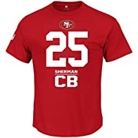 Majestic NFL Camiseta – San Francisco 49ers   25 Richard Sherman 40af0ff1659