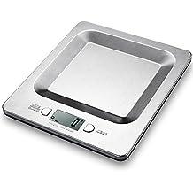 Bilancia da Cucina Topop Bilancia Cucina con 11lb 5kg Capacità di Carico, Bilancia Acciaio Inossidabile (Piccoli elettrodomestici da cucina)