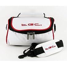 TGC® funda para cámara Fujifilm FinePix S2500HD con correa para el hombro y asa de transporte