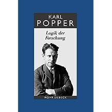 Gesammelte Werke: Band 3: Logik der Forschung (Karl R. Popper-Gesammelte Werke)