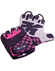 M.E.M Fitness Xtreme Fit - Guantes para mujer, color rosa, talla S