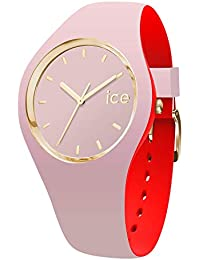 Ice-Watch - Ice Loulou Dolce - Montre Rose pour Femme avec Bracelet en Silicone - 007244 (Medium)