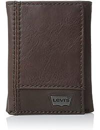 8cbd5c0b11 Levi s Mens Trifold Two-Tone Wallet