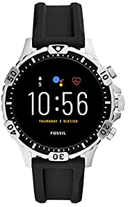 Fossil Gen 5 Garrett Stainless Steel Touchscreen Smartwatch with Speaker, Heart Rate, GPS, NFC, and Smartphone