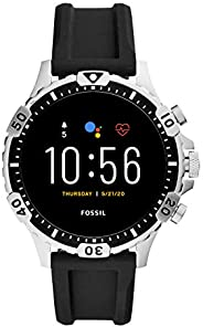 Fossil FTW4041 Men's Steel 316L Digital Quartz Watch, Multic