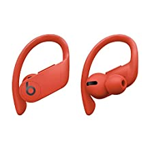 Powerbeats Pro Totally Wireless Earphones – Apple H1 headphone chip, Class 1 Bluetooth®, 9 hours of listening time, sweat-resistant earbuds – Lava Red