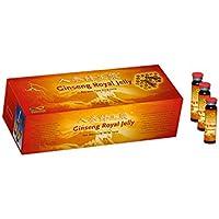 Ginseng Royal Jelly - 6 Jahre alter Rot-Ginseng !!! - 30 x 10 ml Trinkampullen - Kur, Große Packung preisvergleich bei billige-tabletten.eu
